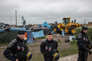 Eviction in Calais, 28. May 2014, Photo by Gustav Pursche, visual-rebellion.