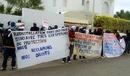 Refugee Protest Choucha Tunisia