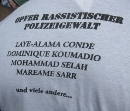Opfer rassistischer Polizeigewalt: Laye-Alama Conde, Dominique Koumadio, Mohammad Selah, Mareame Sarr und viele andere ...