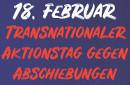 F18 - transnationaler Aktionstag gegen Abschiebungen