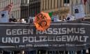Gegen Rassismus und Polizeigewalt - Demonstration zum 20. Todestag von Marcus Omofuma am 1. Mai 2019 in Wien