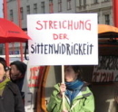 Demo in Wien, 8. März 2008