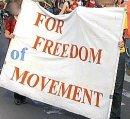 Für die Freiheit der Bewegung!
