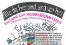 Refugee Protest Camp Vienna Nachbarschaftsfest 28.06.2013