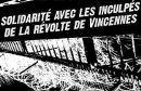 Solidarität mit den Aufständischen in Vincennes