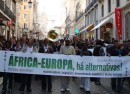 Demonstration in Lisbonne