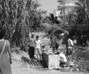 Flüchtlinge im Hafen von Patras