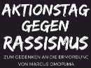 Aktionstag gegen Rassismus zum Gedenken an die Ermordung von Marcus Omofuma