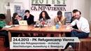 Refugee Protest Camp Vienna Pressconference 24.04.2013