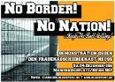 Flyer für die Demonstration gegen den Frauenabschiebeknast Neuss