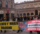 Manifestation on 1st of March 2011 in Bologna, Italy