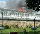 Abschiebelager (CRA) brennt - Vincennes, 22. Juni 2010