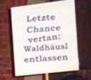 Lezte Chance vertan: Waldhäusl entlassen!