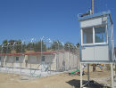 Moria detention centre in Lesvos, opened in September 2013.