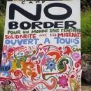 camp no border - solidarity with migrants
