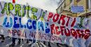 Aprite I Porti - Welcome Refugees - Napoli Antirazzista