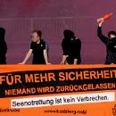 Für mehr Sicherheit - niemand wird zurückgelassen. Seebrücke-Aktion am 14. Juli 2018 in Wien