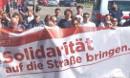Solidarität auf die Straße bringen - Demo gegen den Gipfel der EU-Finanzminister_innen in Wien