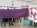 Aktionstag gegen Abschiebungen am Flughafen Wien, 23. Oktober 2009