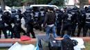 Magdeburg, 25. Juni 2015: Massive Polizeigewalt bei Abschiebung