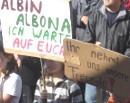 'Albin. Albona. Ich warte auf Euch' - Demonstation gegen Abschiebungen, Frankenburg, 06. Okt 2007