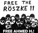 Free the Röszke 11! Free Ahmed H.!