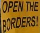 open the borders - öffnet die grenzen