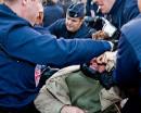 Police violence in Calais, 22. Sep 2009