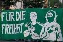 Für die Freiheit - Solidemo in Hamburg am 4. Juni 2008