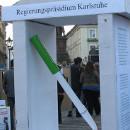 Regierungspräsidium Karlsruhe als Schreibtischtäter_innen - Aktionstage gegen Abschiebungen vom Baden-Airpark, 28. Sep 2012