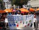 Bleiberecht jetzt! Demonstration in Salzburg