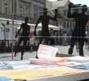 Aktion gegen das Abschiebelager in Fürth, 22. Juli 2006